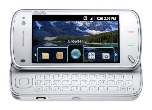Nokia n900 + meego 118 + xbox media centre - video demo