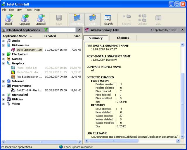 Total Uninstall 4.26 full. Скачать бесплатно с Rapidshare и DepositFiles R